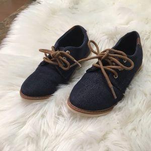 Sonoma boy dress shoes size 13